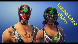 New Skins Lucha Libre | Console Player 🔴 Live Fortnite