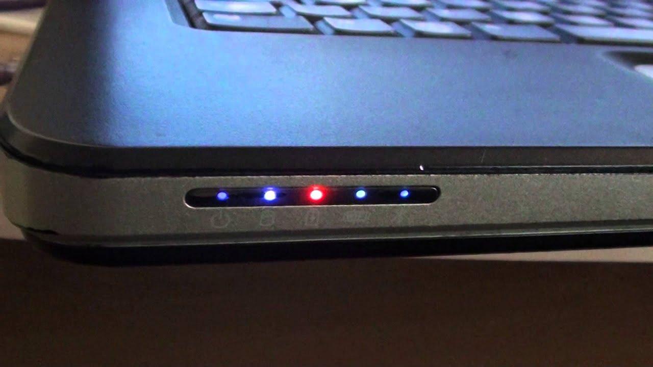 Dell Laptop Battery Light Flashing Amber