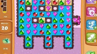 Diamond Digger Saga Level 1384 - NO BOOSTERS | SKILLGAMING ✔️