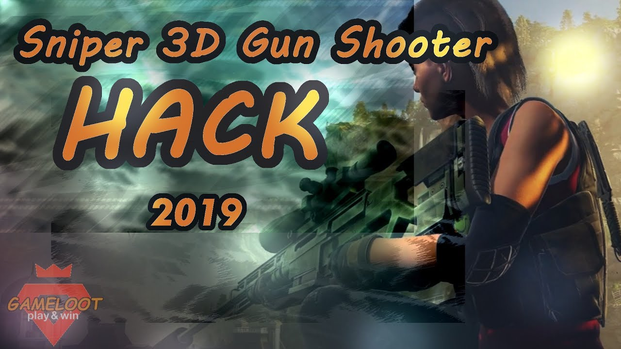 Sniper 3D Assassin Hack 2019 ✅ - Best Technique to Grab Diamonds! Live  Proof Video! iOS/Android
