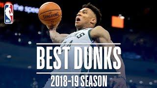 Giannis Antetokounmpo's Best Dunks   2018-2019 NBA Season   #NBADunkWeek