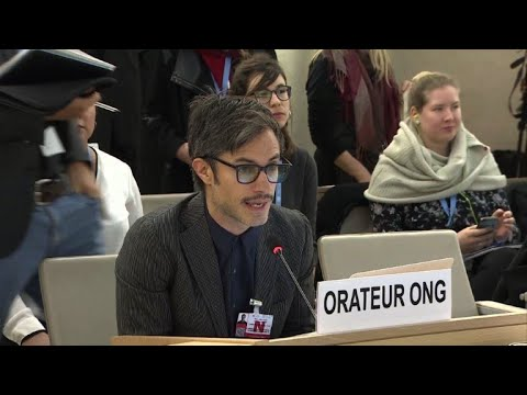 Actor Garcia Bernal pleads for end of impunity in Mexico at UN