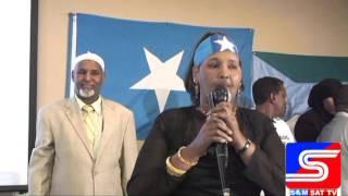 Xafladda taageeradda Jubaland Ee Magaaladda St,Cloud Minnesota ( Somalisat TV)