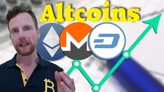 Alternativen zu Bitcoin: Ethereum, Dash, Monero, Decred