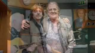 Bap Kennedy with the late Gerry Anderson (2012)
