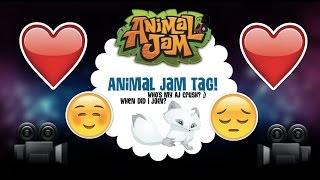 Animal Jam Tag! Who