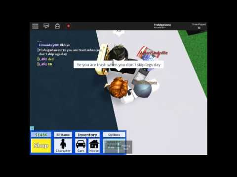 ROBLOX | THIS Dude trying to roast a bacon hair | HIGH SCHOOL LIFE