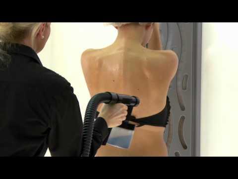 Sunjunkie Spray Tanning Demonstration - Step By Step Guide