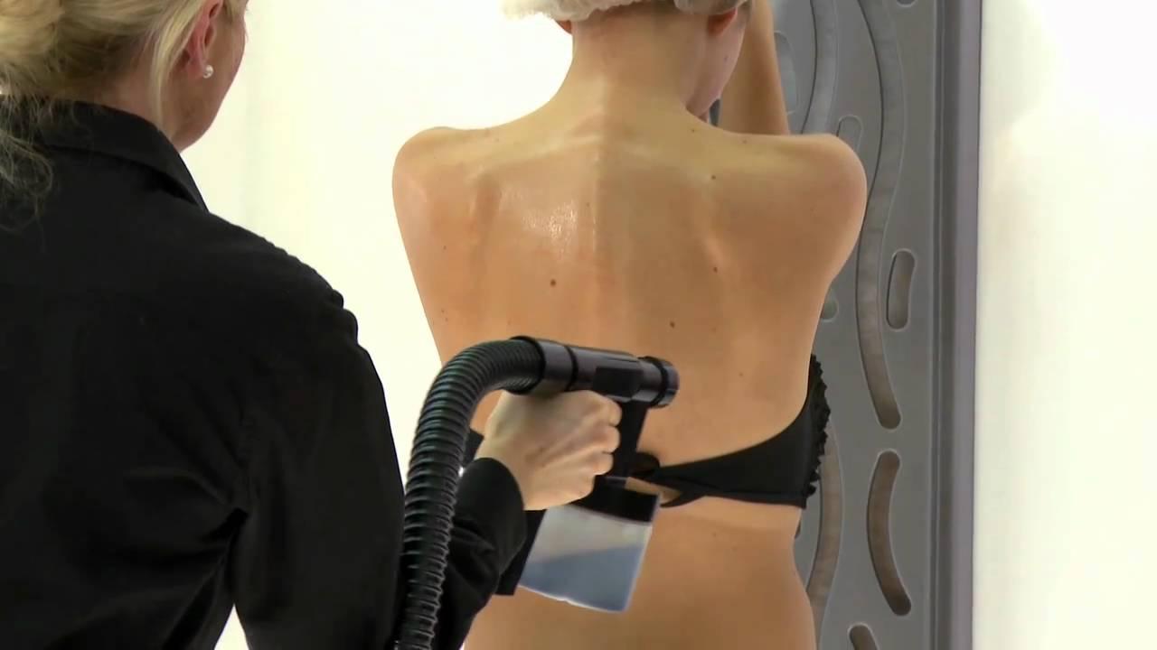 spray tan test