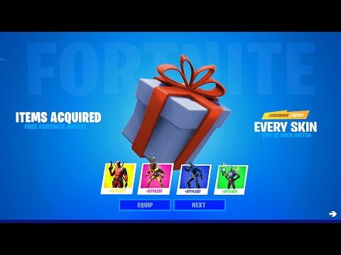 How To Gift Yourself EVERY SKIN In Fortnite Chapter 2 Season 3! (Fortnite Cosmetic Gifter)