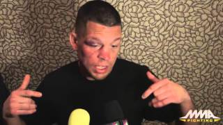 Nate Diaz Following Conor McGregor Win: 'I Feel Like I'm Best Fighter in World'