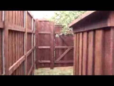 8 Board On Board Postmaster Dfw Fence Contractor Youtube