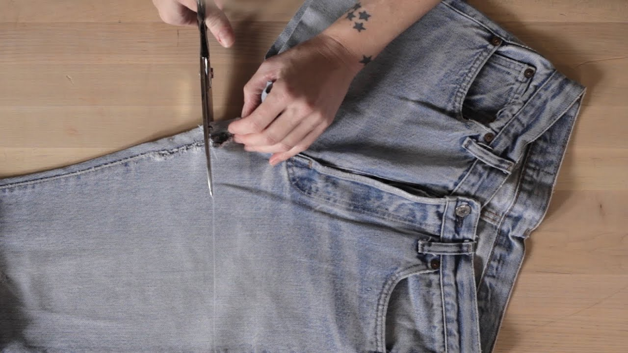 How to Make the Perfect Cut-Off Shorts | Levi's® - YouTube