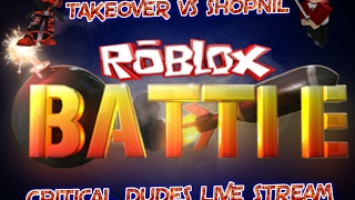 ROBLOX!!! LET THE PROS TAKE THIS #COME AND SAY HI