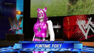 WWE 2K17 Funtime Foxy From Five Nights At Freddy S Sister Location