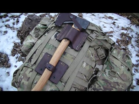 New items.  The Camp axe carry system.