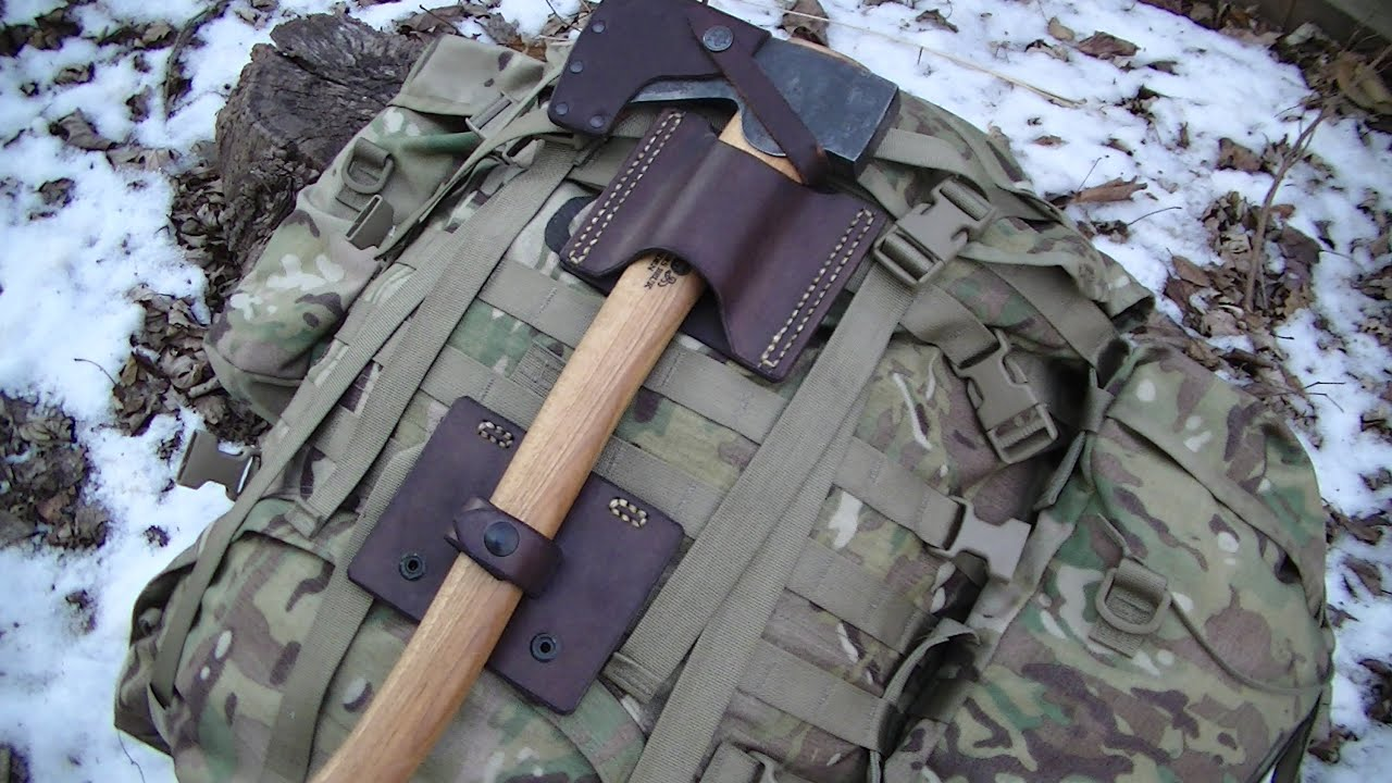 New Items The Camp Axe Carry System Youtube