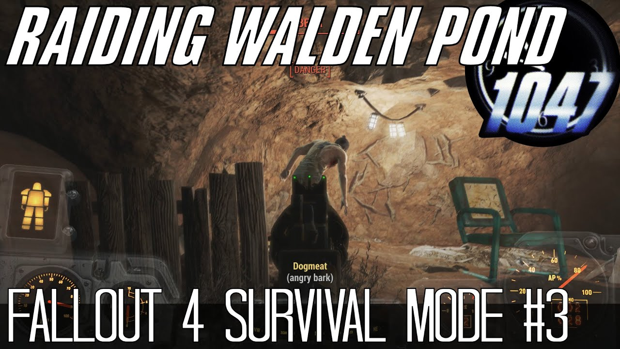 raiding walden pond fallout 4 survival mode 3 youtube