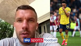 Lukas Podolski believes Arsenal are not living up to their potential