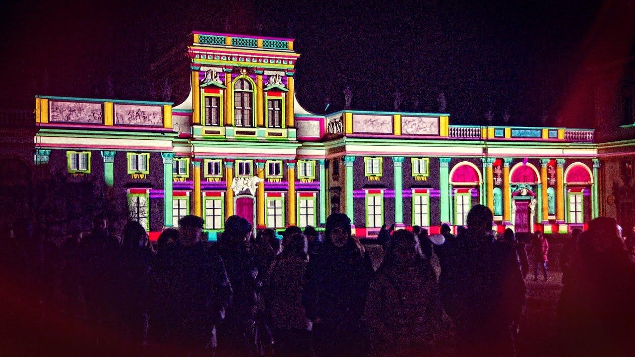 V Królewski Festiwal światła Wilanów 2017
