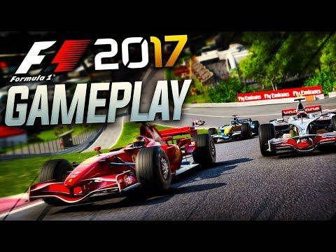 F1 2017 Gameplay: 2008 Mclaren vs 2007 Ferrari vs 2006 Renault