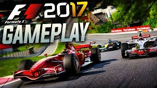 F1 2017 Gameplay: 2008 Mclaren vs 2007 Ferrari vs 2006 Renault