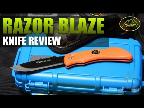 Outdoor Edge Razor Blaze Skinning Hunting Knife Review | OsoGrandeKnives