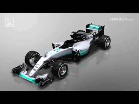 Mercedes Tech Update Silverstone 2016