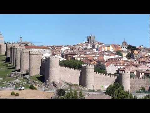 The Walled City of Ávila, Spain