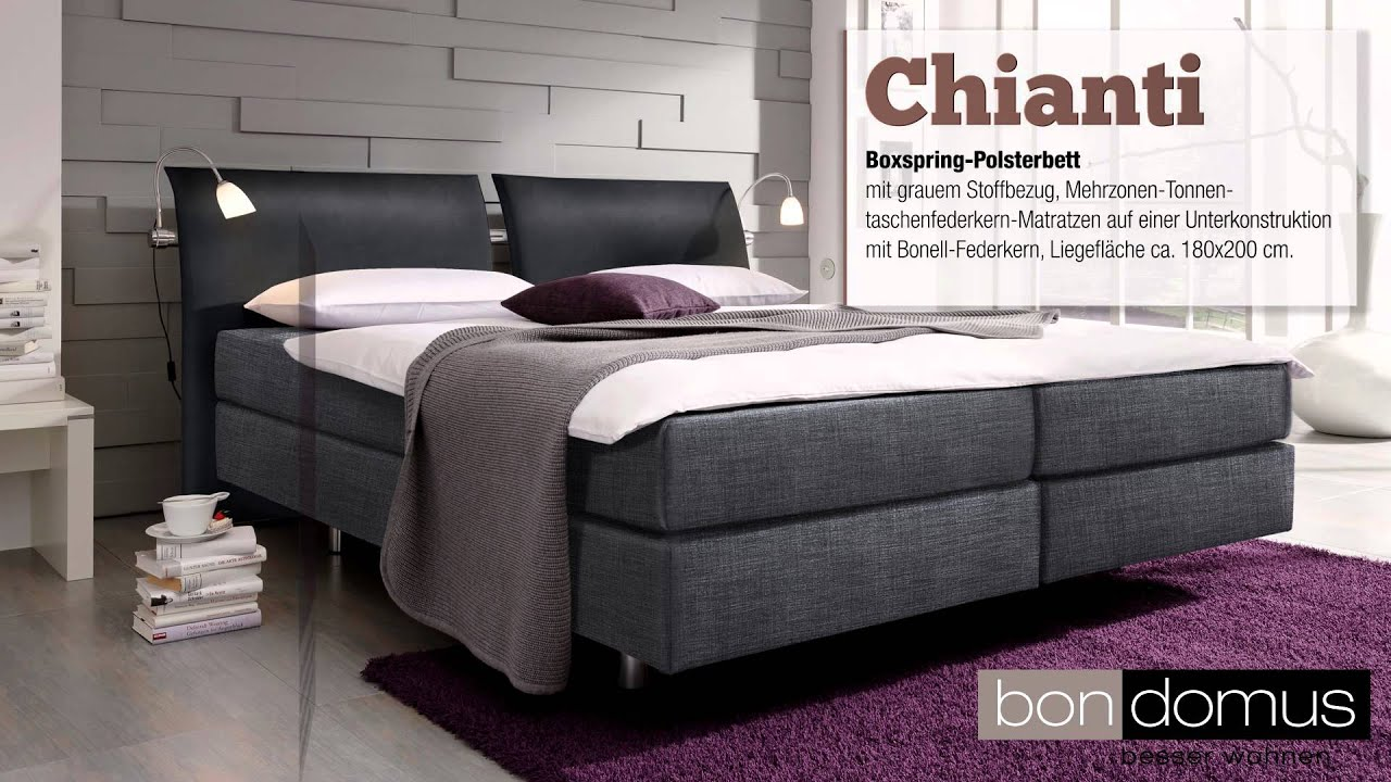 Boxspring Betten Bondomus Boxspringbetten