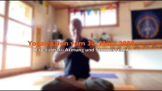 Yogalektion vom 30. März 2020