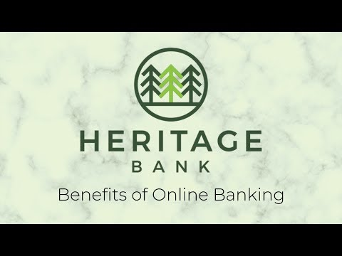 Online Banking & E-Statements - Heritage Bank