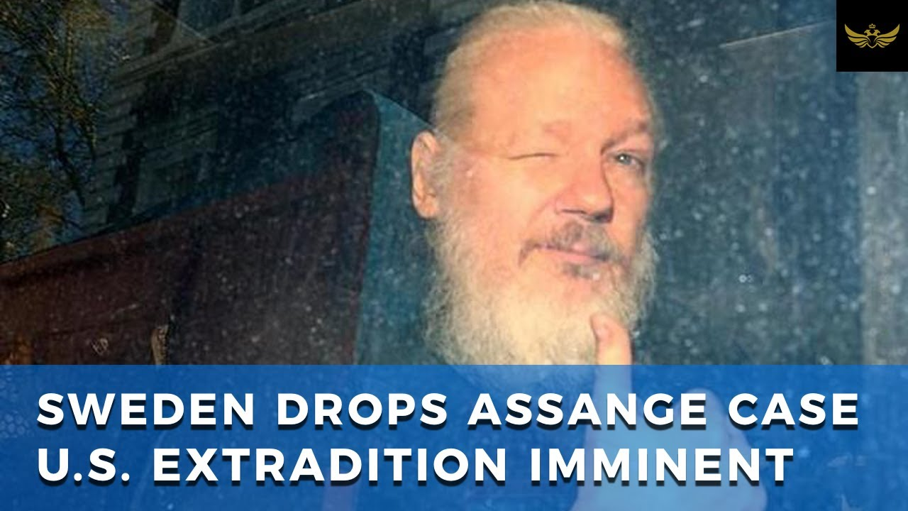 Sweden drops Assange investigation, paving way for U.S. extradition