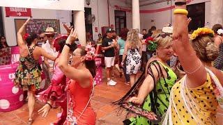 Los más feriantes agarran con fuerza la jornada del jueves de feria de Málaga