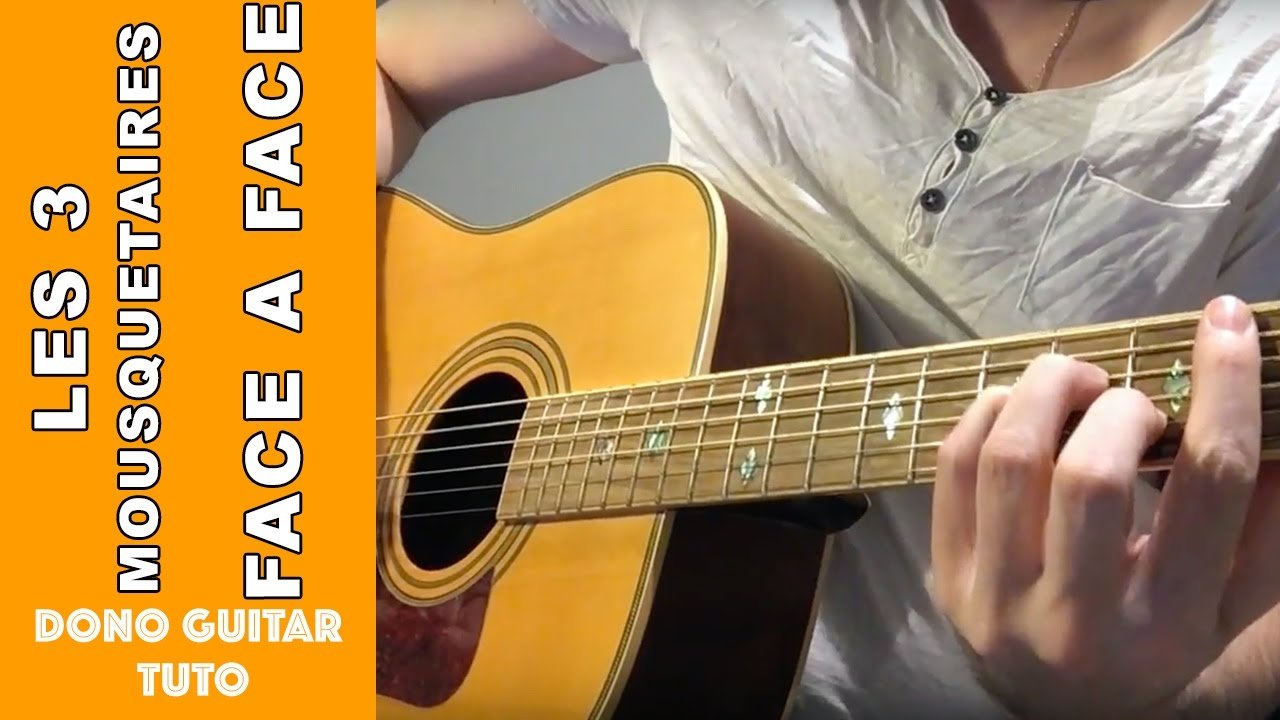 partition guitare les 3 mousquetaires