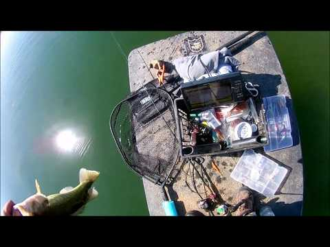 Don Pedro Reservoir  Bass Fishing And Checking On The Water Temp
