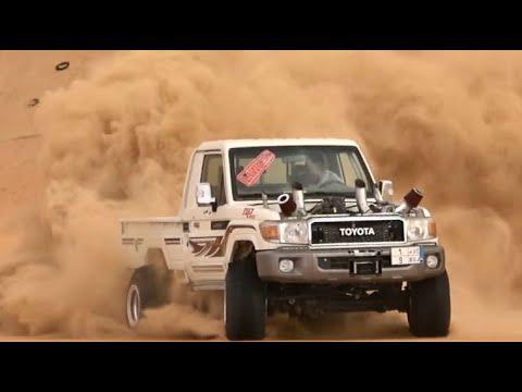 شاص تون توربو تعليق نيسان باترول Toyota Land Cruiser  and Nissan Patrol suspension