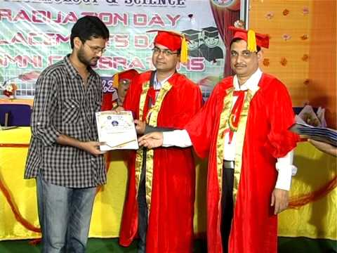 MALLA REDDY INSTITUTE OF TECHNOLOGY AND SCIENCE (MRITS) GRADUATION DAY 2014 PART 2