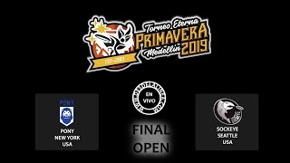 TEP 2019 ||  [FINAL OPEN]  SOCKEYE vs PONY