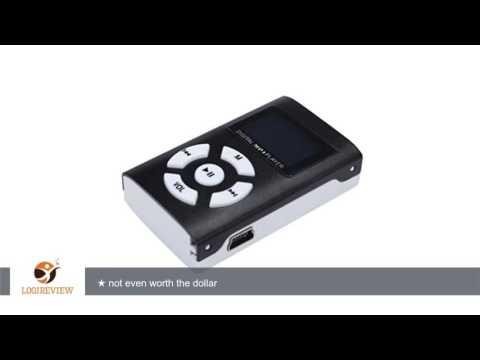 Start Mini Metal Protable USB Mini LCD Screen MP3 Player Support 32GB Micro SD TF Card-Black |