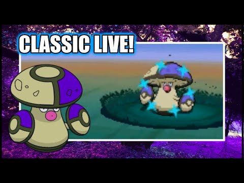 [CLASSIC LIVE] RANDOM Shiny Amoonguss in Blaze Black 2!