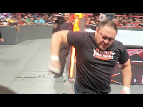 WWE RAW 1/30/17 ROW 2 (Laredo, TX) | Brandon Hodge Vlog #44