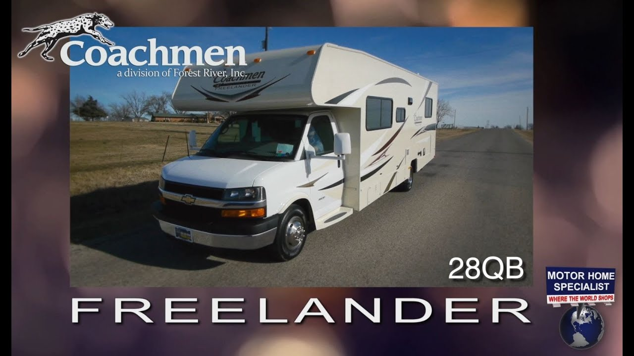 Coachmen Freelander RV Review at Motor Home Specialist 28QB 21QB