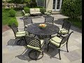 Round Patio Dining Sets