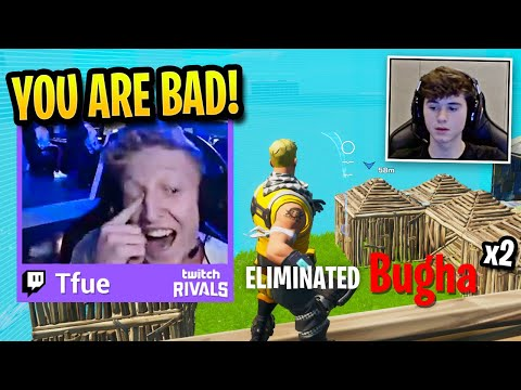 TFUE *LAUGHS* At BUGHA After DESTROYING Him TWICE! (Fortnite)