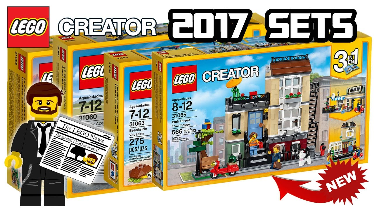 lego creator 2017 set pictures and news youtube. Black Bedroom Furniture Sets. Home Design Ideas