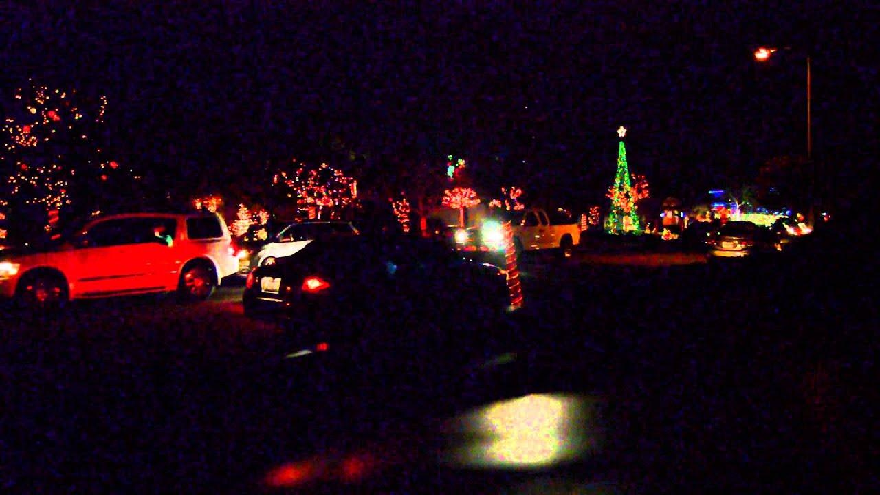 Yucaipa Christmas Manning Lights 2014 - YouTube