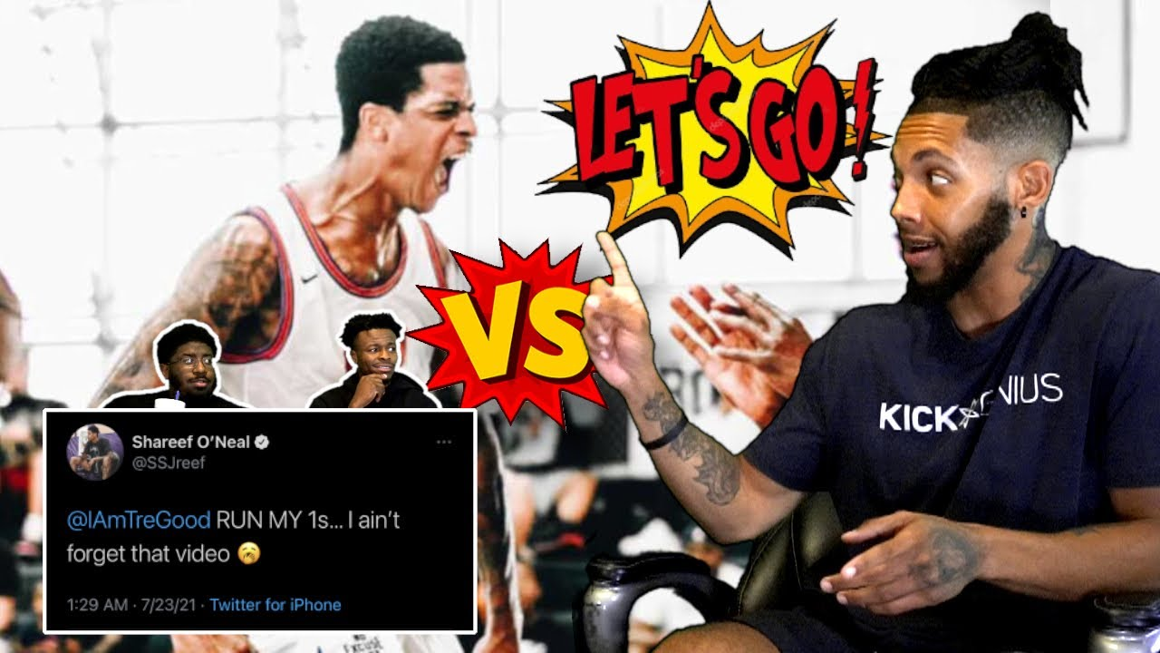 SHAREEF O'NEAL CALLS OUT TRE GOOD?!? (CHALLENGE ACCEPTED)   HouseReacts!