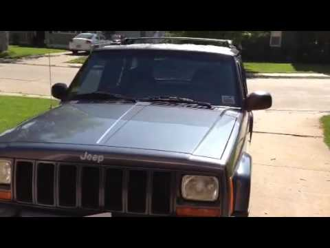 jeep cherokee roll on bedliner quick fix like rhino liner youtube. Black Bedroom Furniture Sets. Home Design Ideas