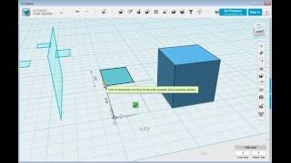 123D Design  Aligning and Deleting Objects